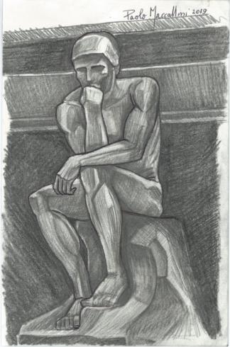 thinker-scan